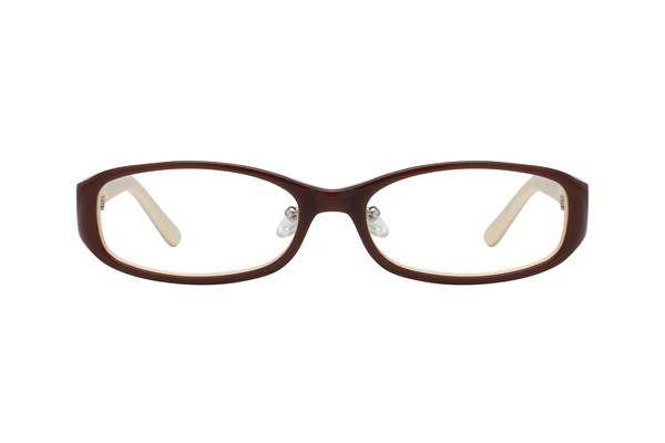 Red Lotus 204z Brown Eyeglasses