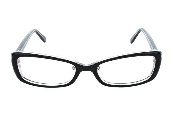 Red Lotus 205z Eyeglasses - Black