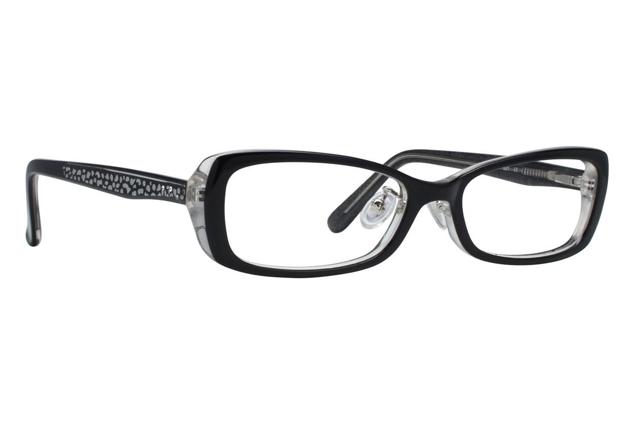 Red Lotus 205z Black Eyeglasses