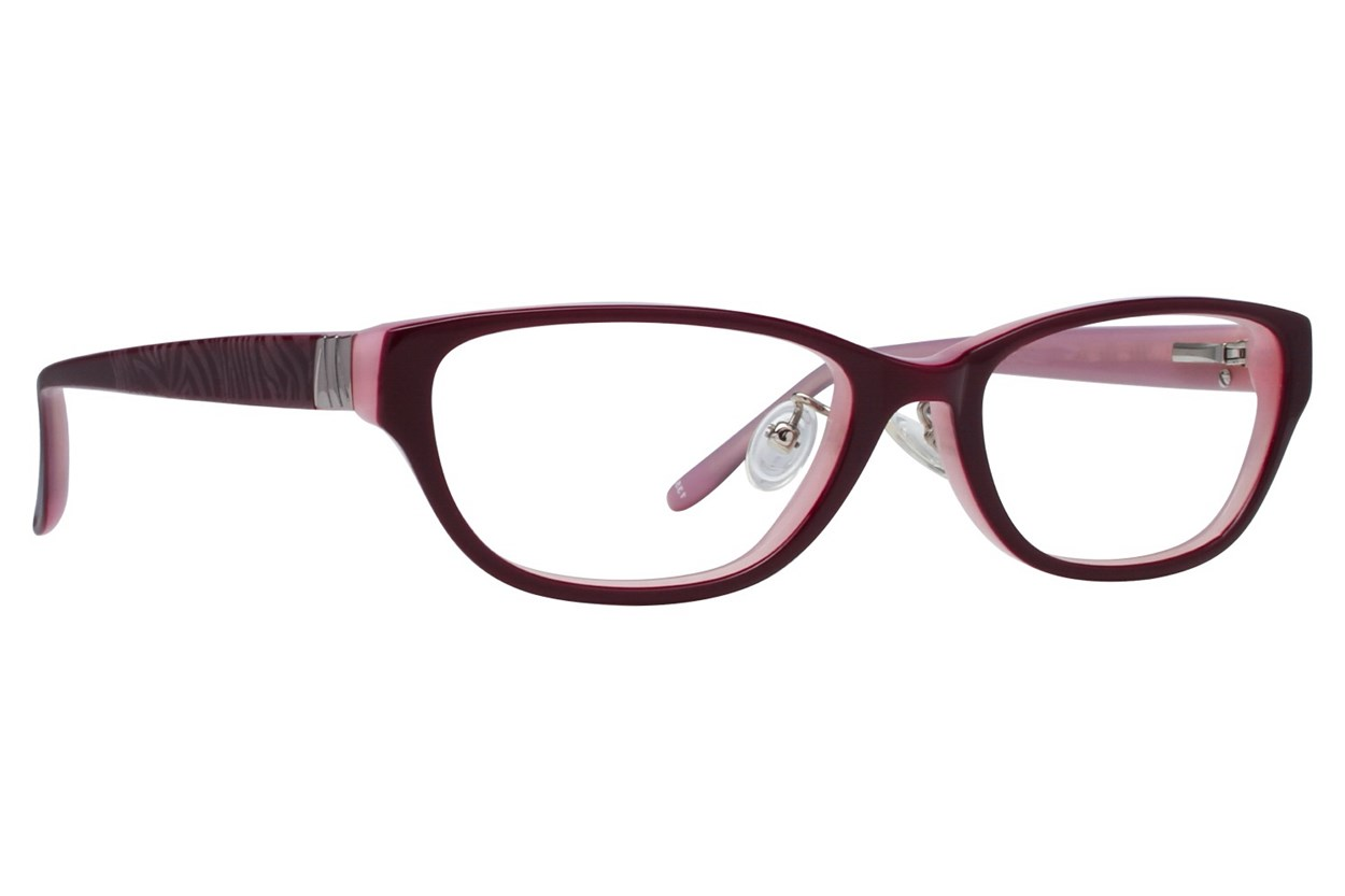 Red Lotus 208z Purple Eyeglasses