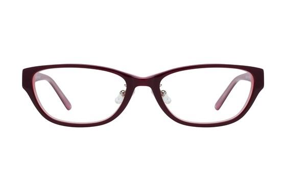 Red Lotus 208z Purple Eyeglasses