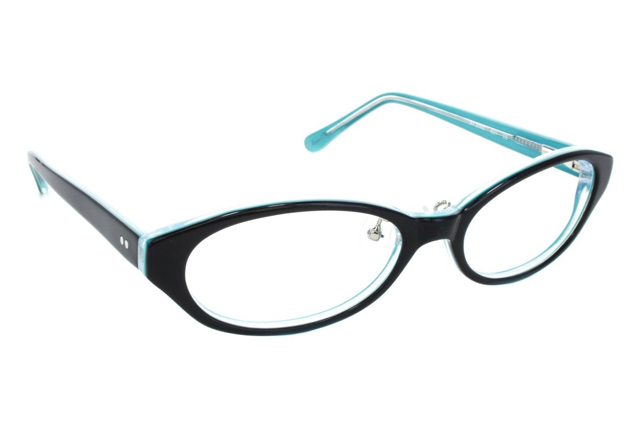 Red Lotus 209z Eyeglasses - Black