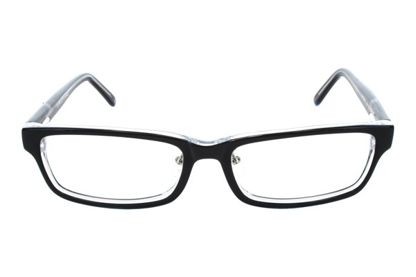 Red Tiger 501z Black Eyeglasses