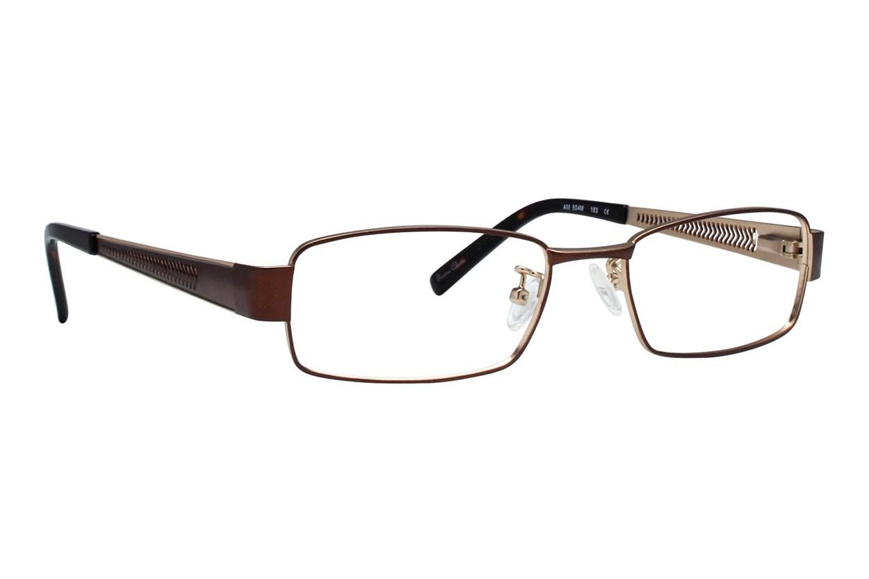Red Tiger 504m Brown Eyeglasses