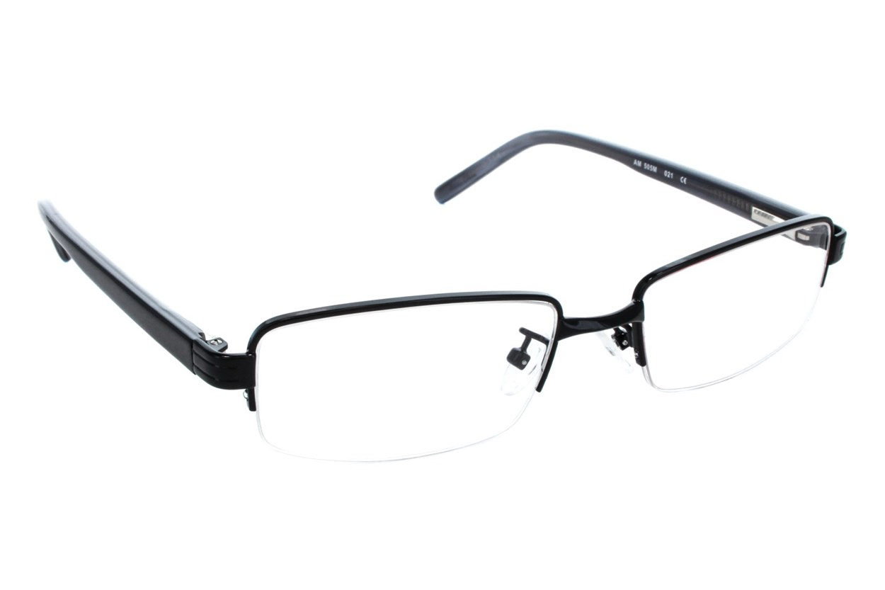 Red Tiger 505m Eyeglasses - Black