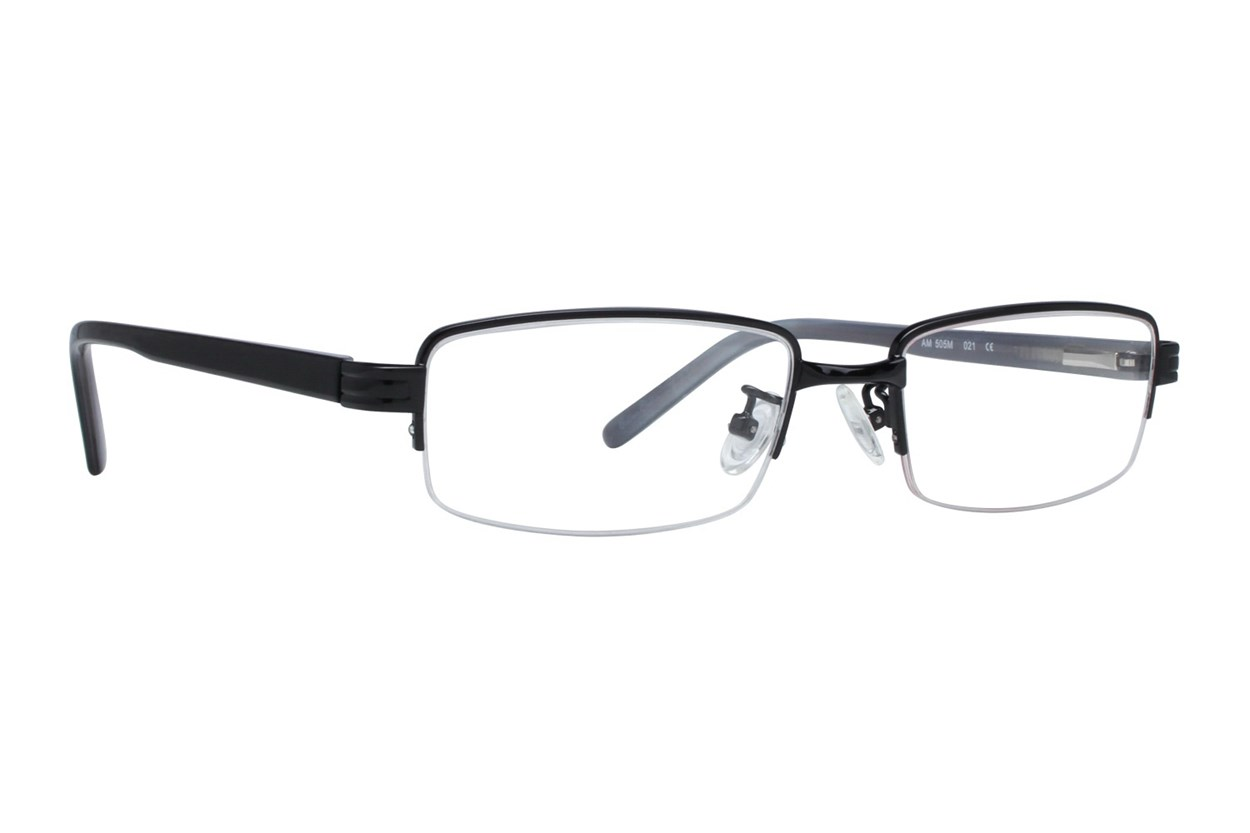 Red Tiger 505m Black Eyeglasses