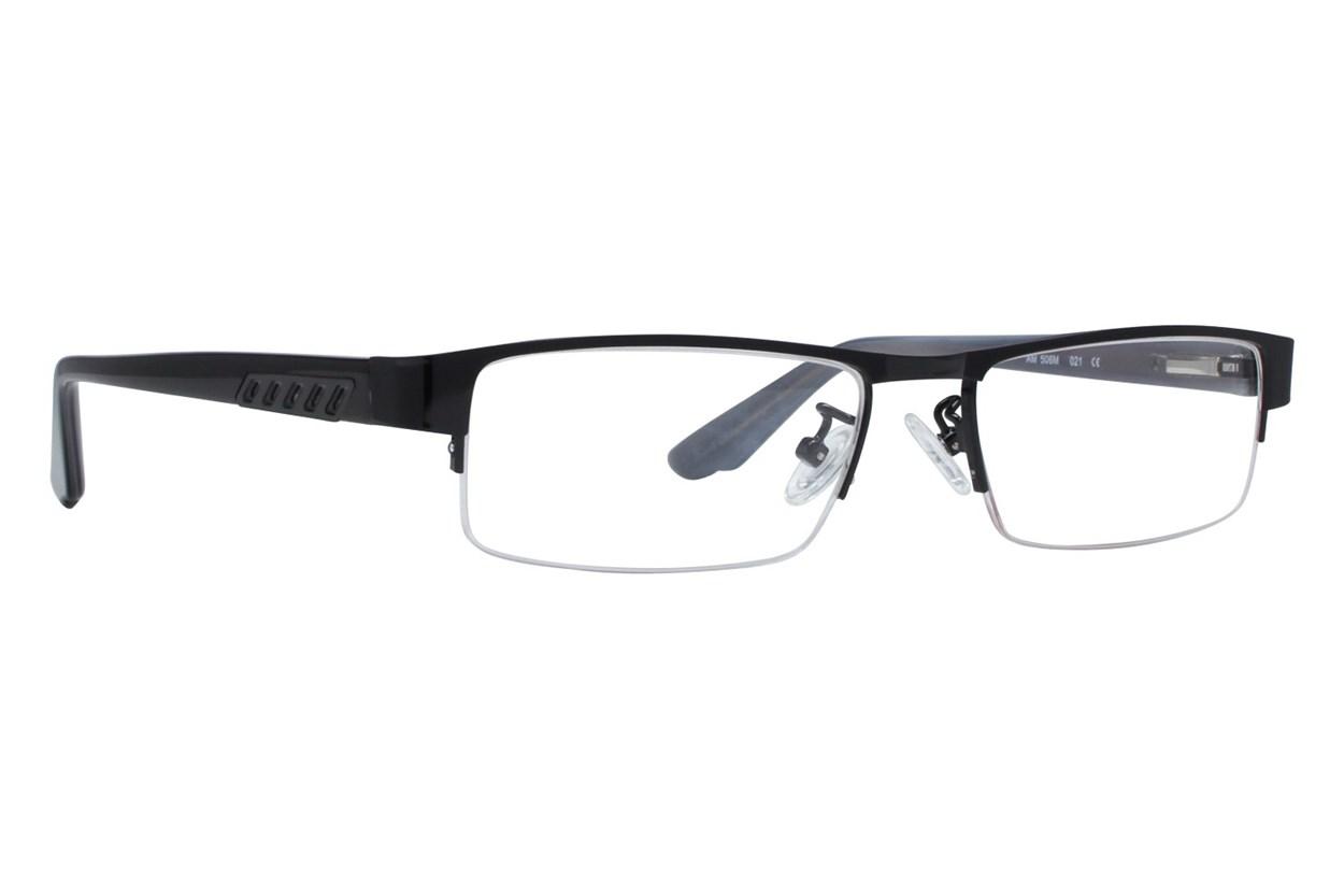 Red Tiger 506m Black Eyeglasses