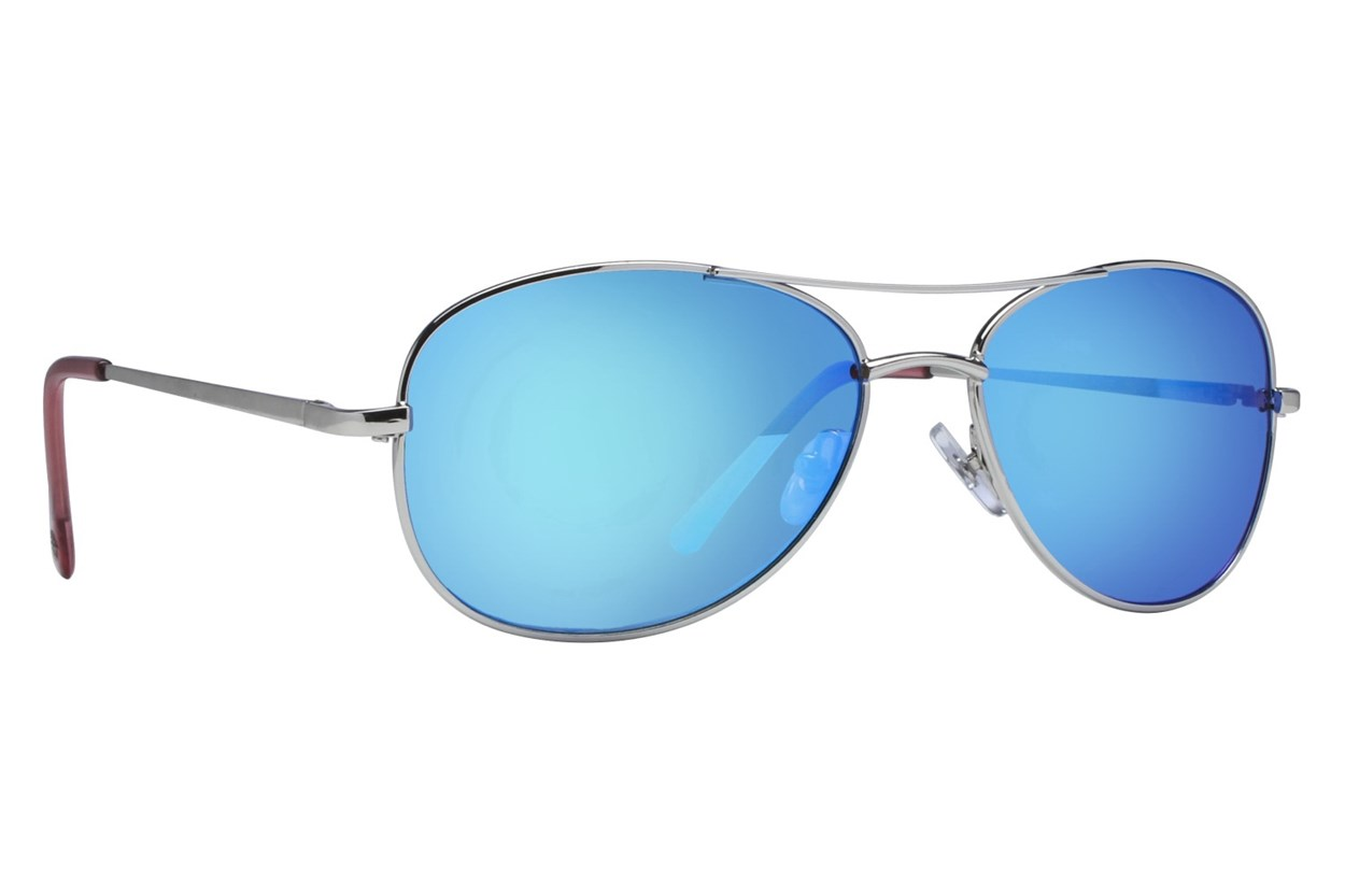 Anarchy Fugitive Silver Sunglasses