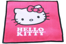 Hello Kitty Pink Cleaning Cloth