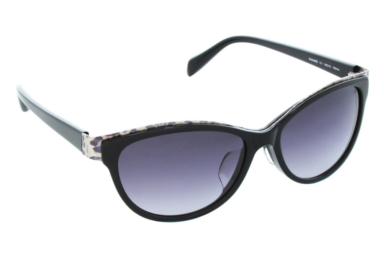 TC Charton Shaunee Black Sunglasses