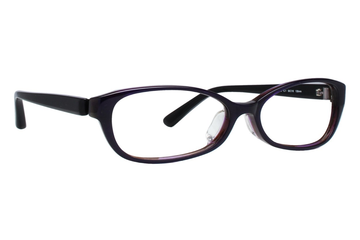 TC Charton Naoko - Large Black Eyeglasses