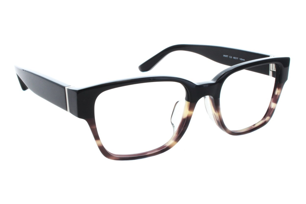 TC Charton Wyatt Black Eyeglasses