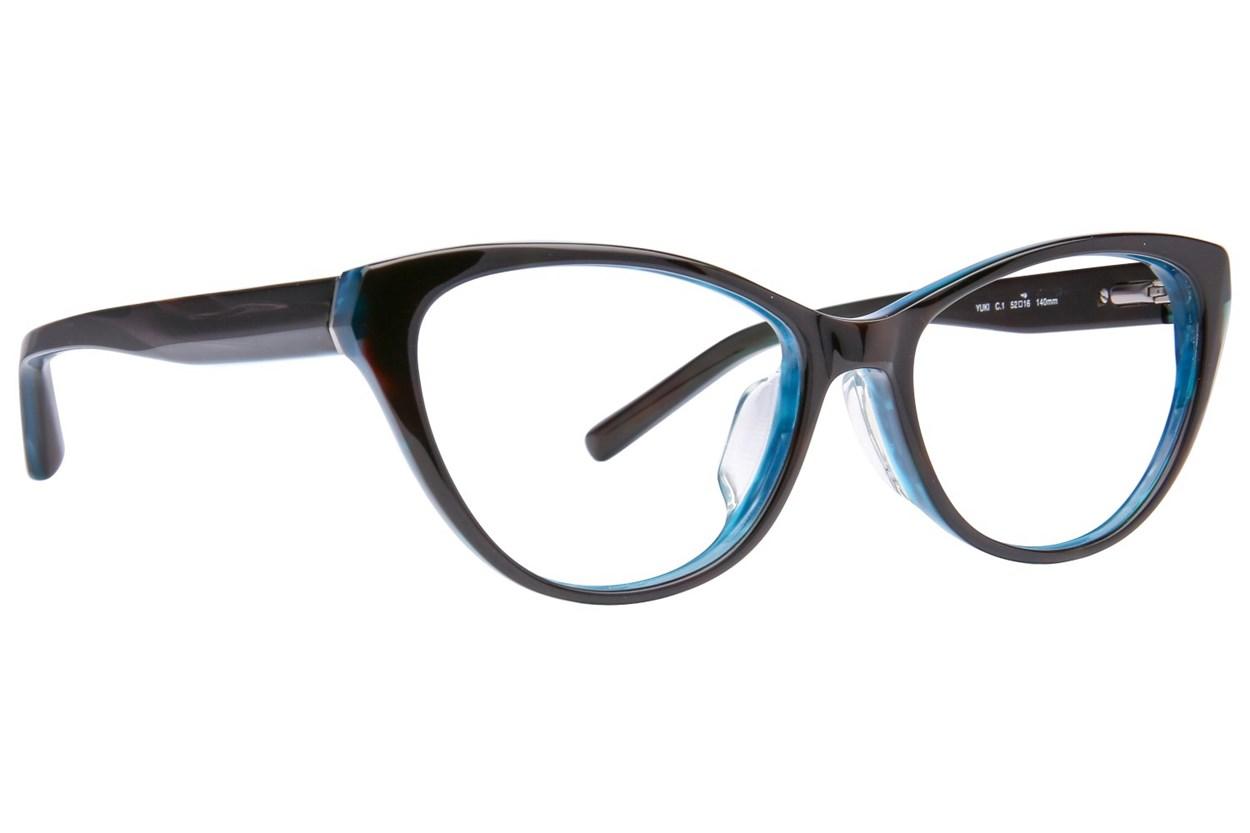 TC Charton Yuki Gray Eyeglasses