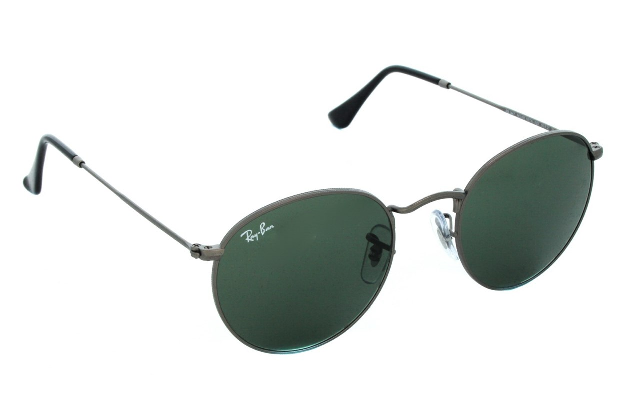 Ray-Ban® RB3447 Round Sunglasses - Gray