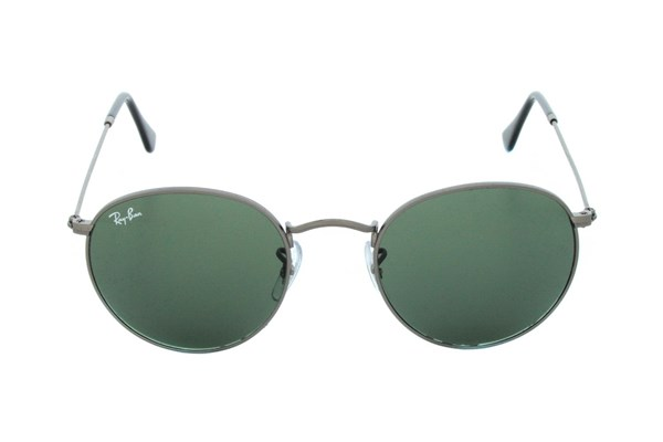 Ray-Ban® RB3447 Round Gray Sunglasses