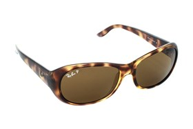 Ray-Ban® RB4061 Polarized Brown