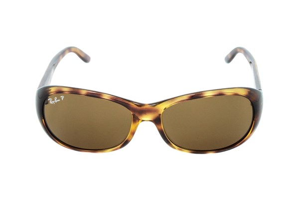 Ray-Ban® RB4061 Polarized Tortoise Sunglasses