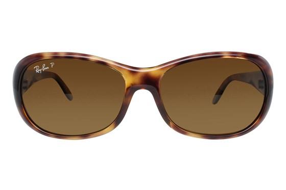 Ray-Ban® RB4061 Polarized Tortoise Sunglasses