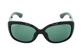 Ray-Ban® RB4101F Jackie Ohh Asian Fit Black