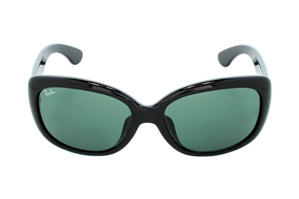 Ray-Ban® RB4101F Jackie Ohh Asian Fit Black Sunglasses