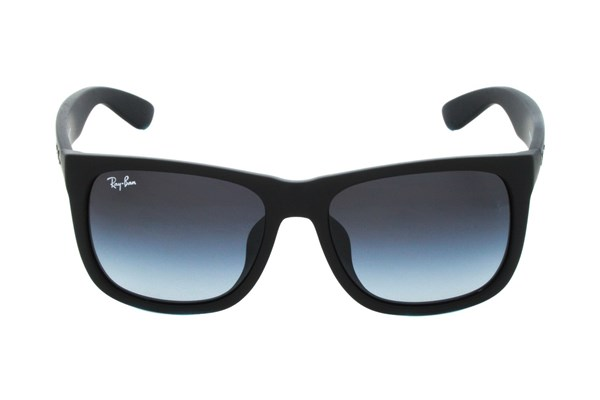 Ray-Ban® RB4165F Justin Asian Fit Black Sunglasses