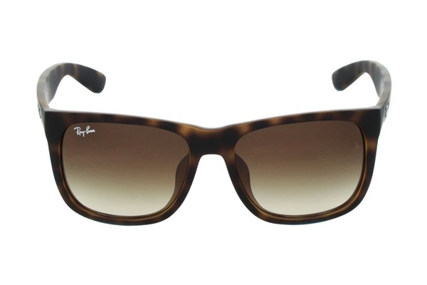 Ray-Ban® RB4165F Justin Asian Fit Brown Sunglasses
