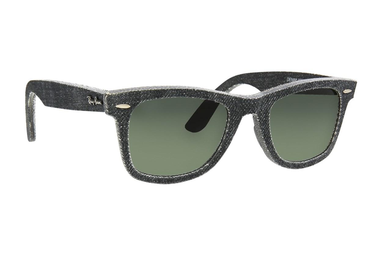 Ray-Ban® RB2140 50 Black Denim Black Sunglasses