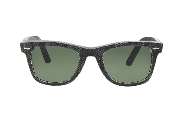 Ray-Ban® RB2140 50 Black Denim Black Sunglasses