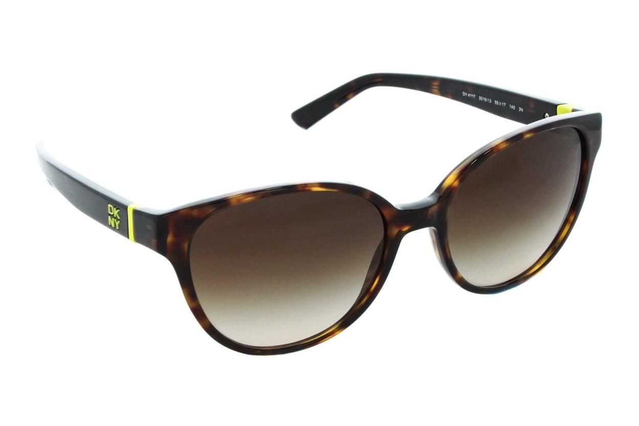 DKNY 4117 Tortoise Sunglasses