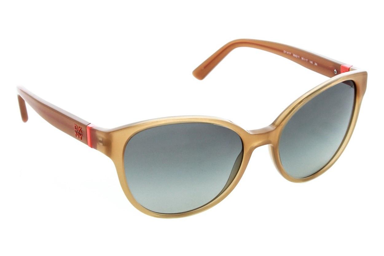 DKNY 4117 Tan Sunglasses