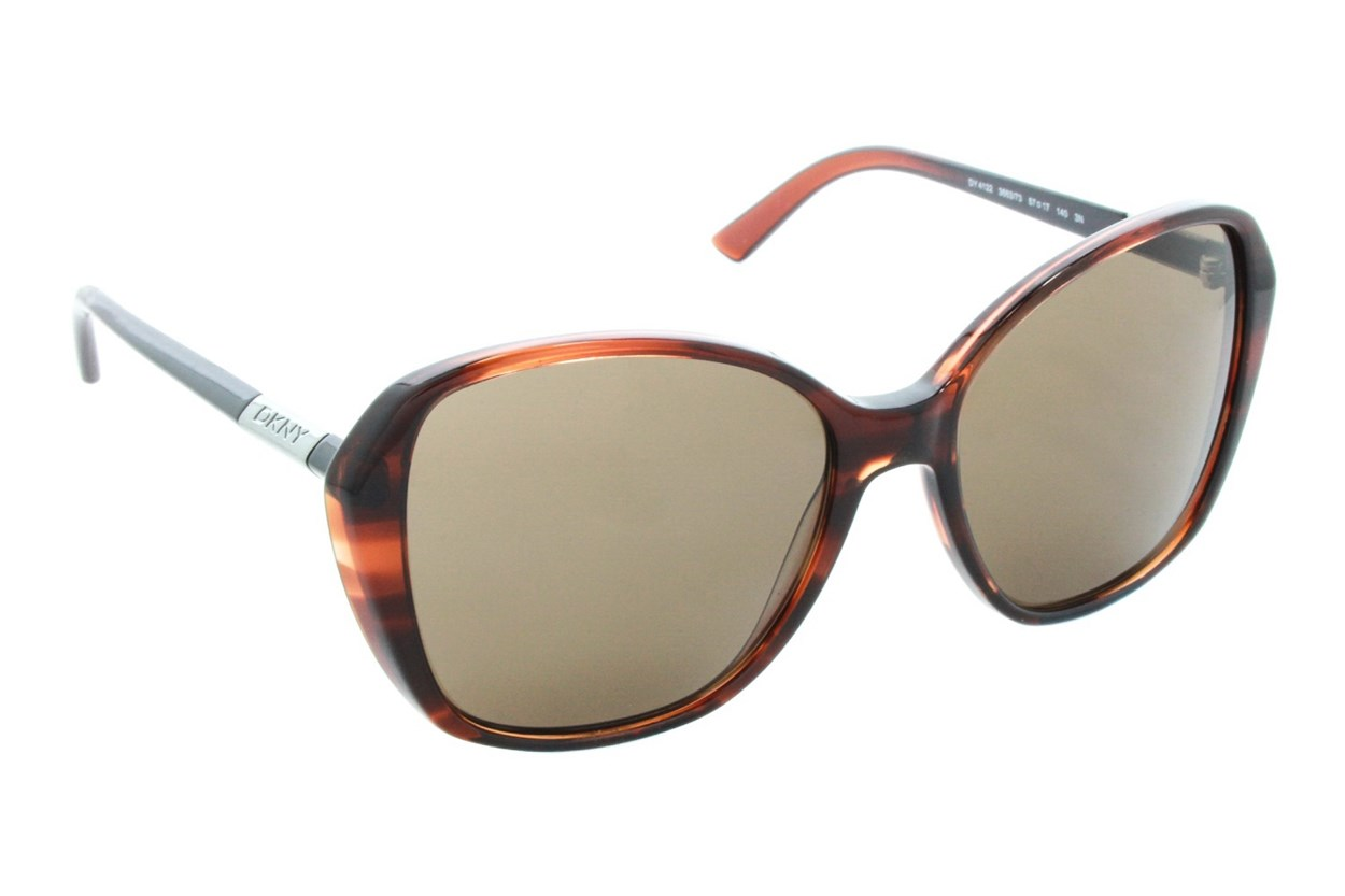 DKNY 4122 Brown Sunglasses