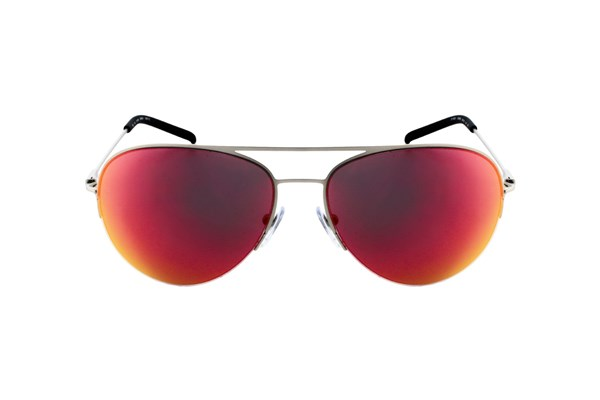 DKNY 5080 Red Multilayer Sunglasses - Silver