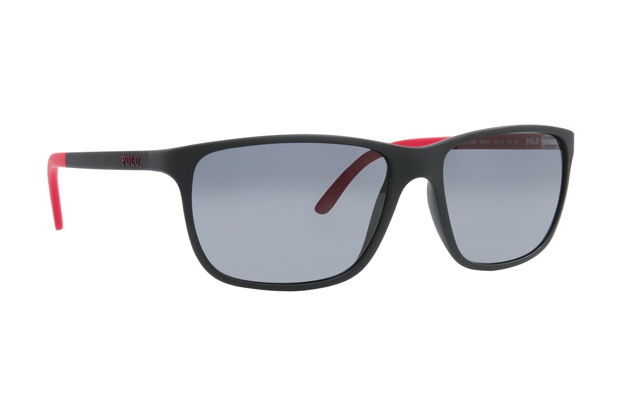 Polo PH4092 Polarized Sunglasses - Black