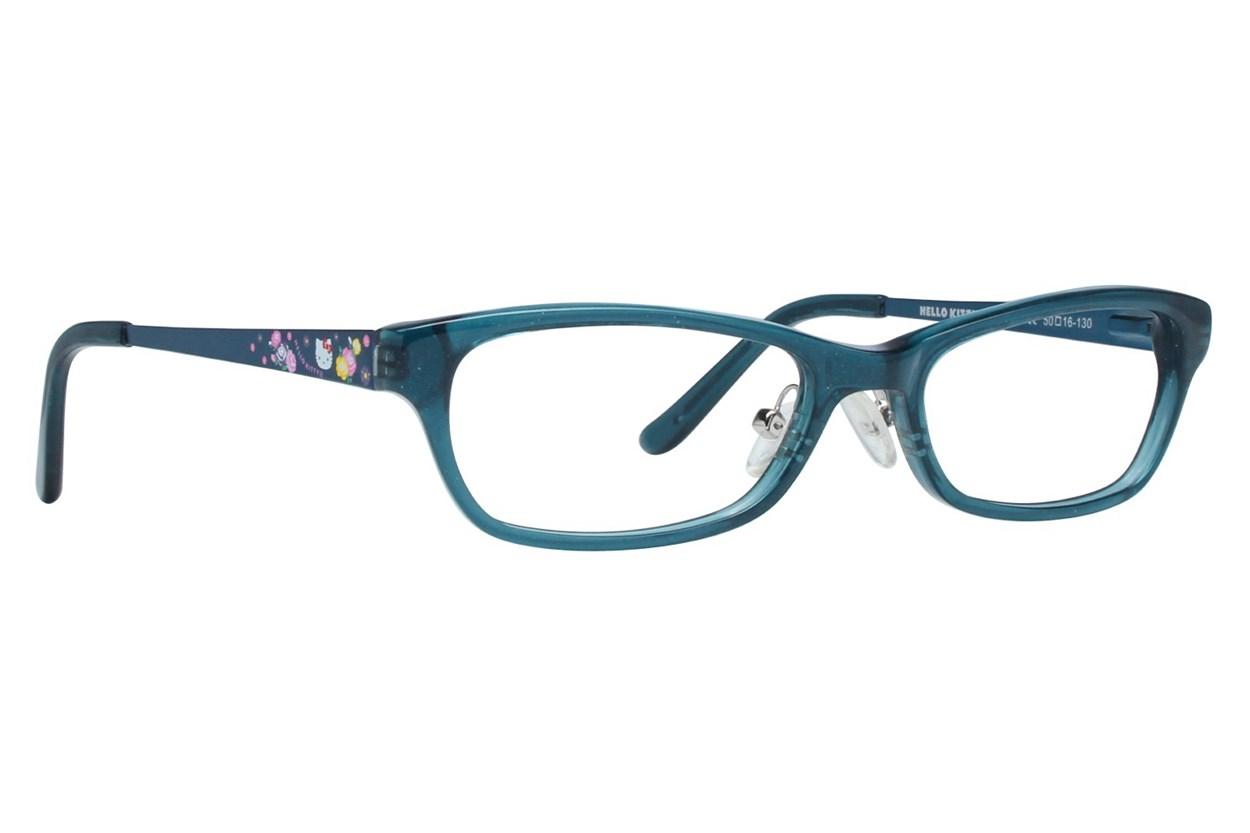 Hello Kitty HK247 Blue Eyeglasses