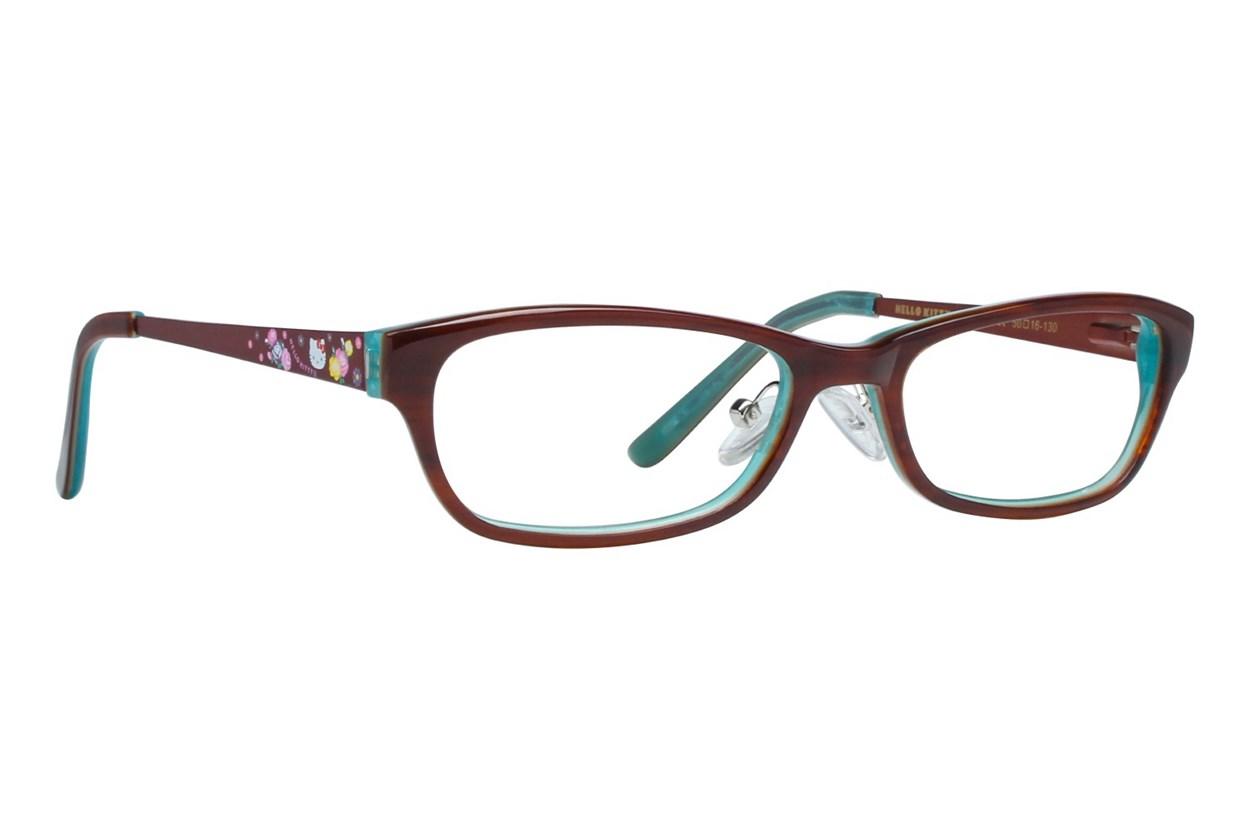 Hello Kitty HK247 Brown Eyeglasses