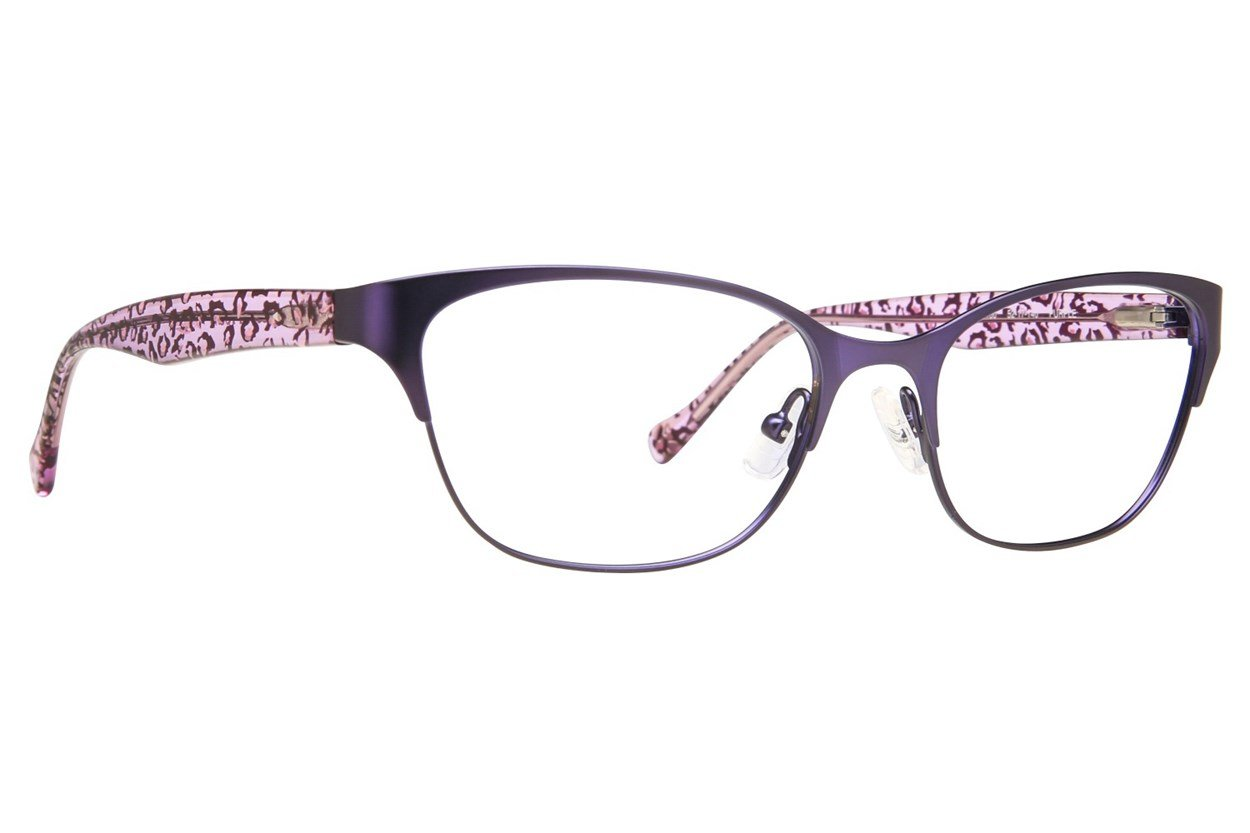 Lucky D100 Purple Eyeglasses