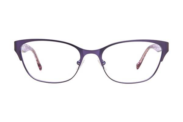 Lucky D100 Eyeglasses - Purple