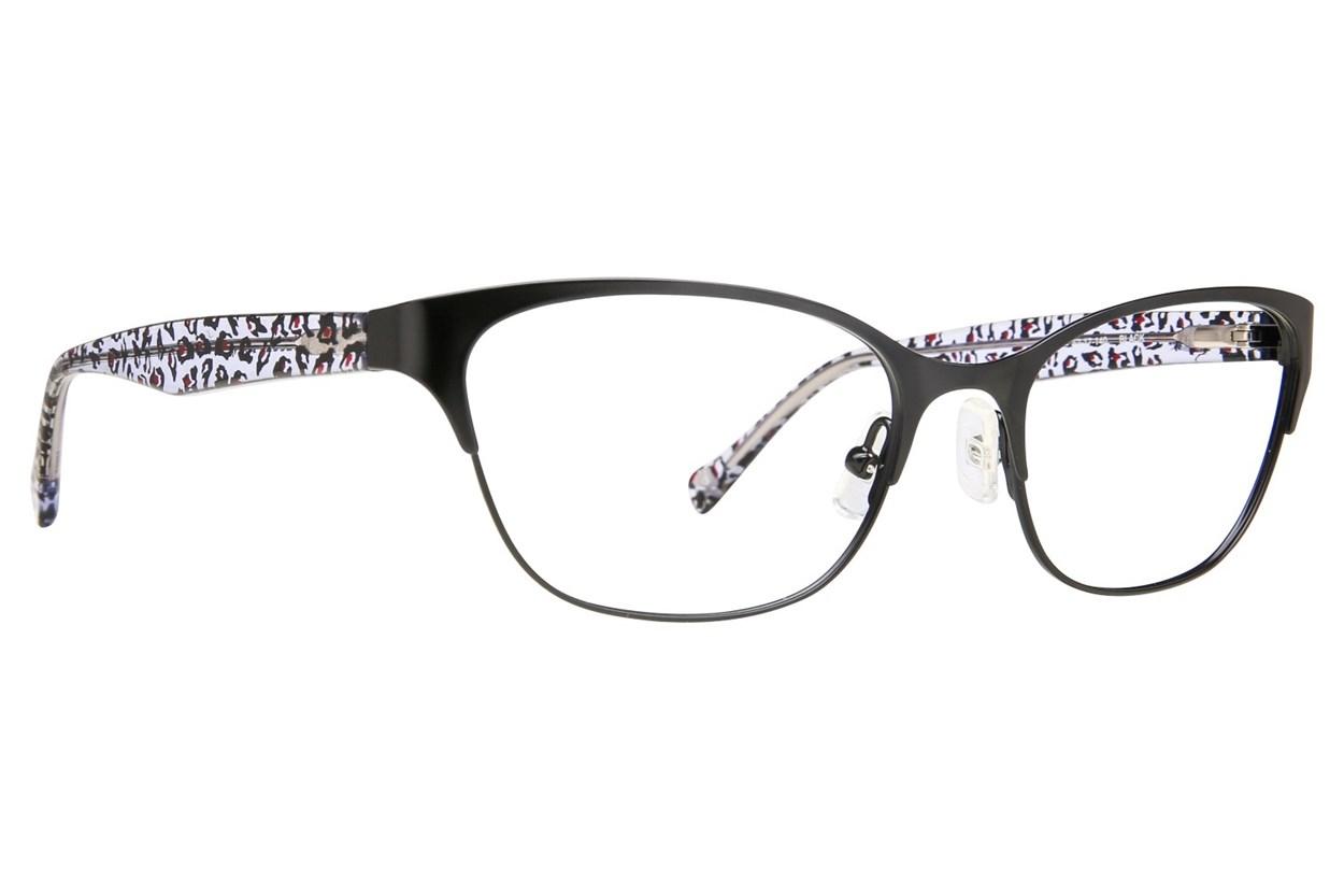 Lucky D100 Black Eyeglasses