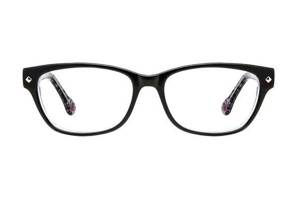 Hot Kiss HK10 Black Eyeglasses
