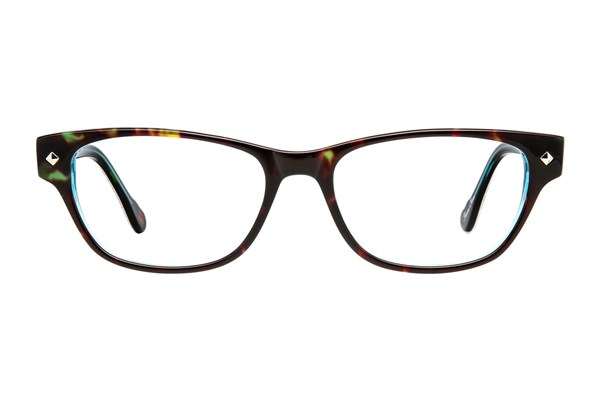 Hot Kiss HK10 Eyeglasses - Tortoise