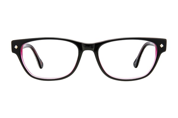 Hot Kiss HK10 Purple Eyeglasses