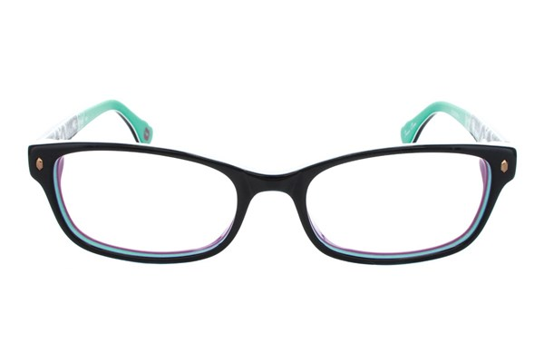 Hot Kiss HK34 Eyeglasses - Black