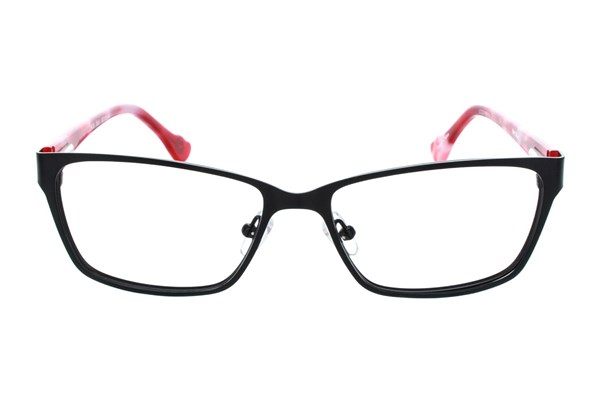 Hot Kiss HK38 Eyeglasses - Black
