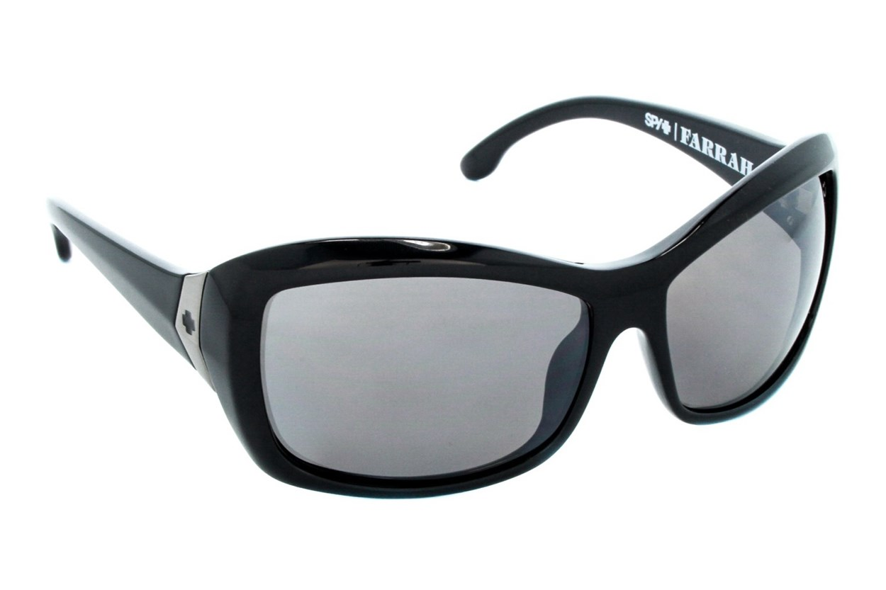 Spy Optic Farrah Polarized Black Sunglasses