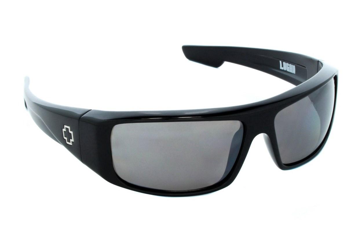 Spy Optic Logan Polarized Black Sunglasses