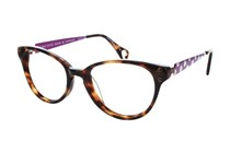 Betsey Johnson Ombre Minnie Prescription Eyeglasses Frames