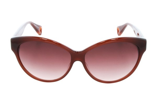 Betsey Johnson Galaxy Quest Brown Sunglasses