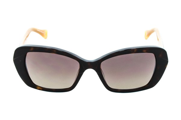 Betsey Johnson Vintage Vines Brown Sunglasses