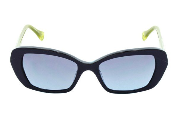 Betsey Johnson Vintage Vines Blue Sunglasses