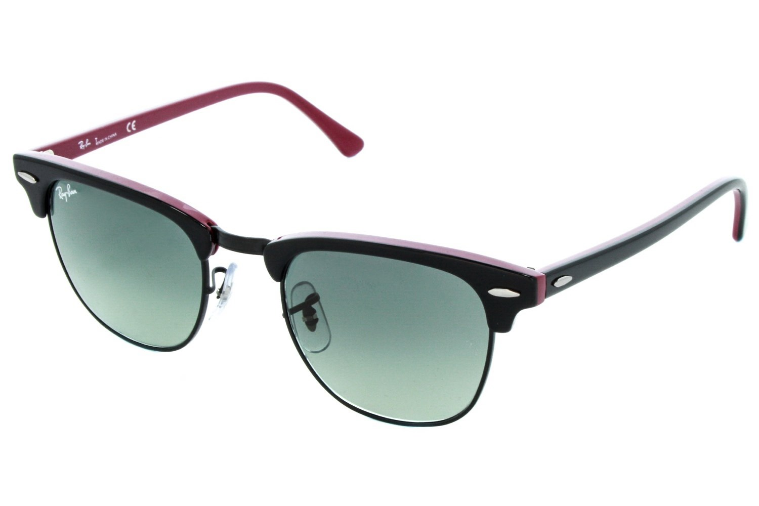 ray ban clubmaster blue lenses  ray-ban rb3016 49 clubmaster